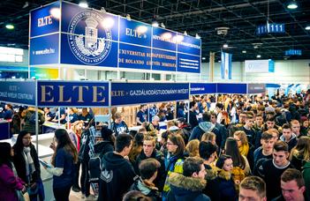 Több mint 3000-en az ELTE GTI standjánál – Educatio 2020