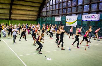 Mozogni kell, mozogni jó, mozogni élvezet! –ELTE Fit Night 7