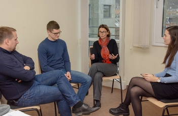 Lengyel kutatók az ELTE Gazdálkodástudományi Intézetében