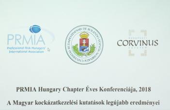 Kockázatkezelési konferencia az ELTE GTI szervezésében