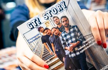 Nyomás, megjelent az első GT! Story magazin!