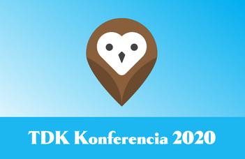 A 2020-as TDK helyezettjei