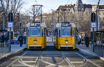 TRAMsportation in Budapest