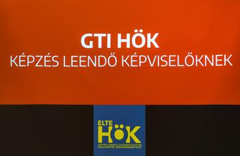 Megkezdődött a GTI HÖK képviselői képzéssorozata