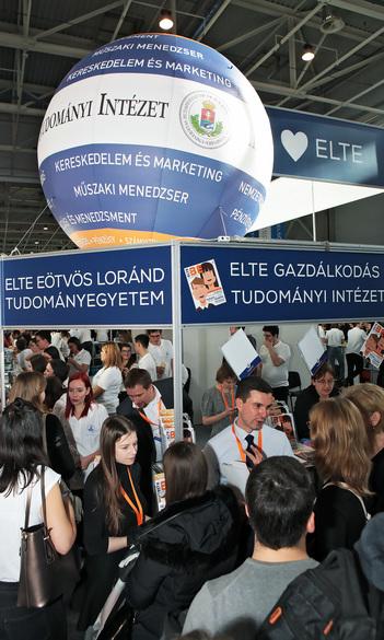 EDUCATIO 2018 – több ezer érdeklődő az ELTE GTI standjánál